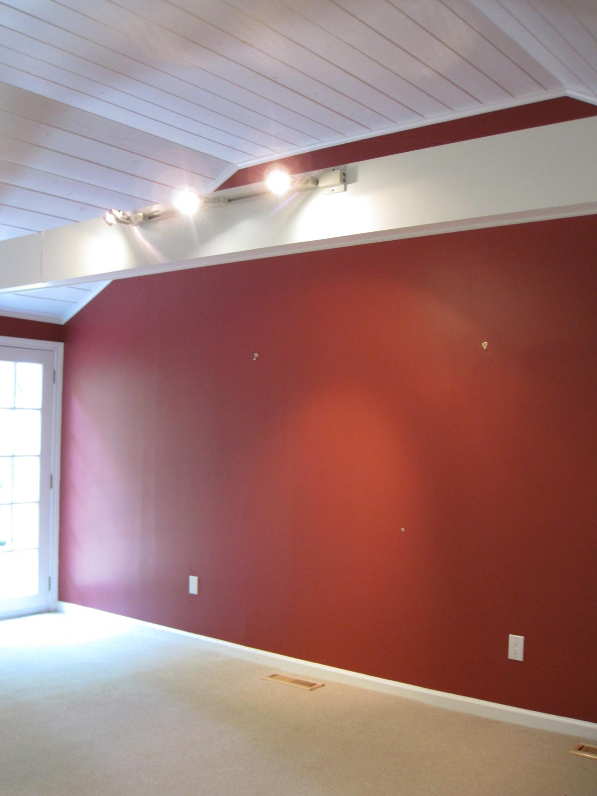 Home remodel: Our family room before remodeling!
