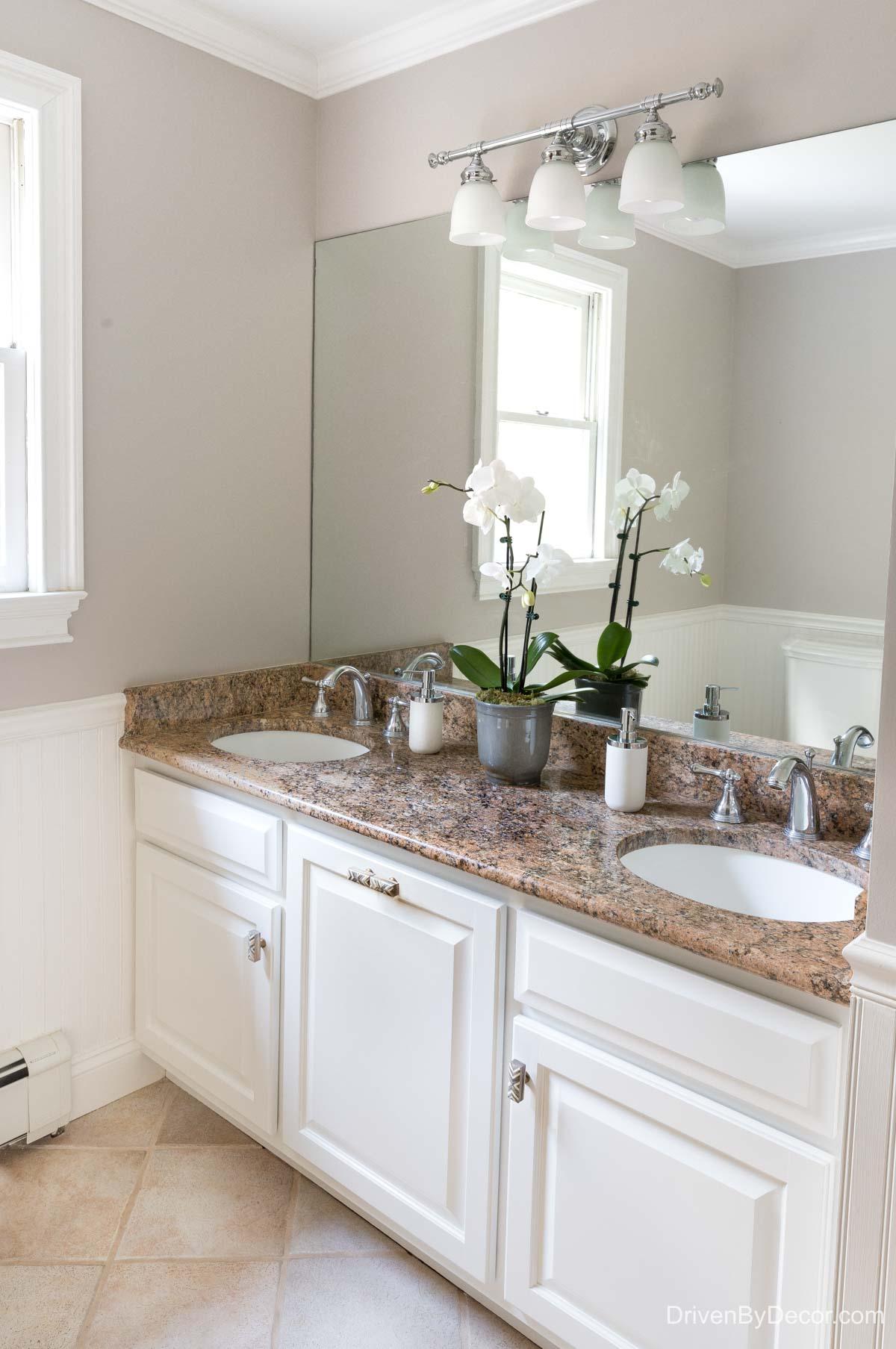Home remodel: Our kids' bathroom after remodeling!
