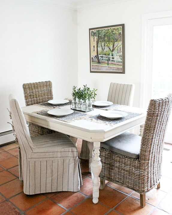 Home remodel: Kitchen eat-in before remodeling!