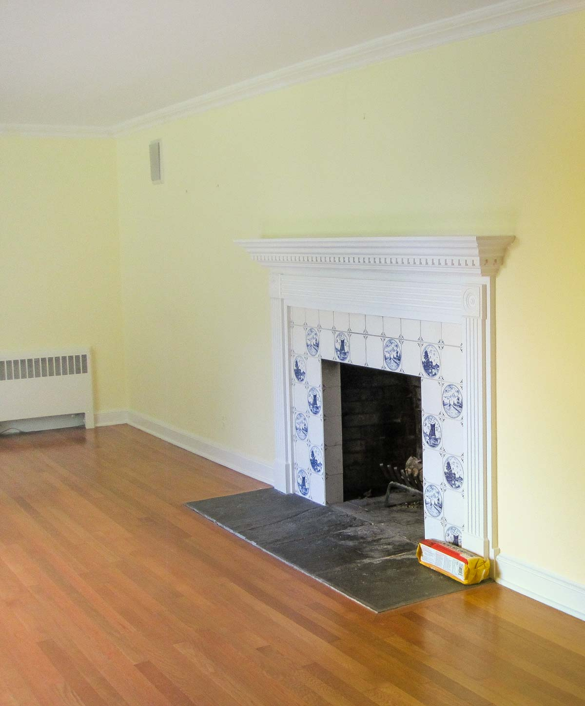Home remodel: Our living room before remodeling!