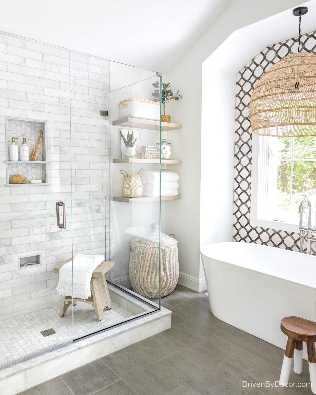 Home remodel: Our master bathroom after remodeling!