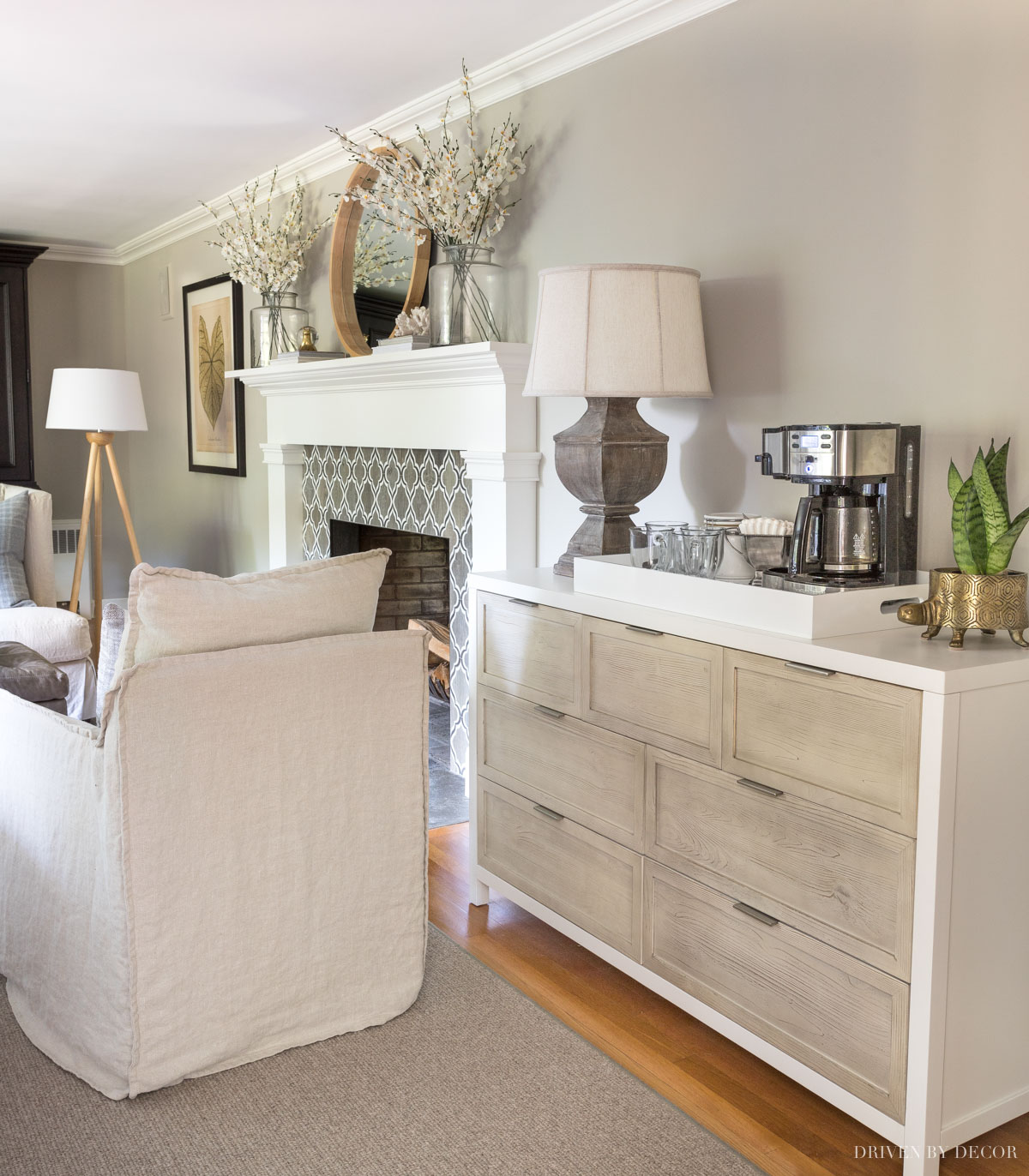 Sherwin Williams Anew Gray - a great greige paint color!