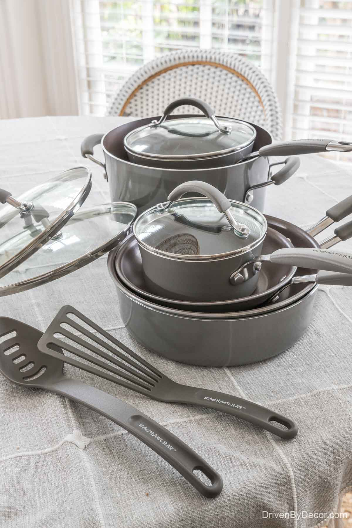 Highly rated affordable cookware set