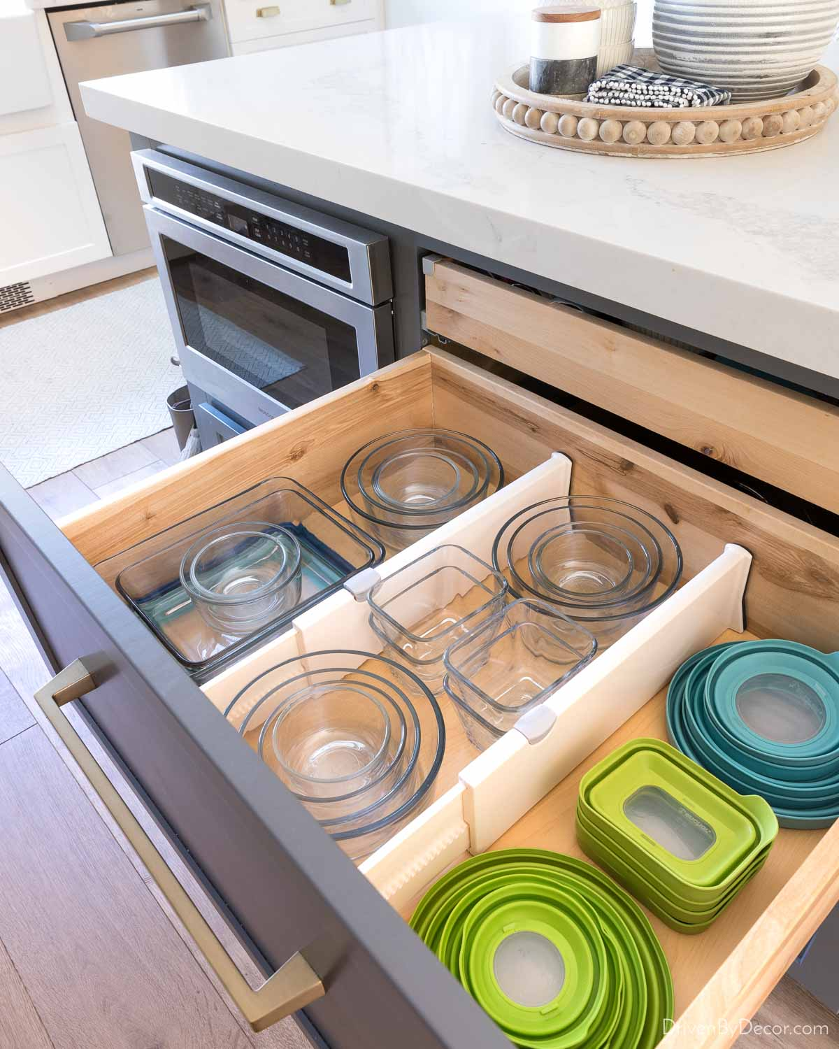 These dividers are some of my favorite kitchen drawer organizers!