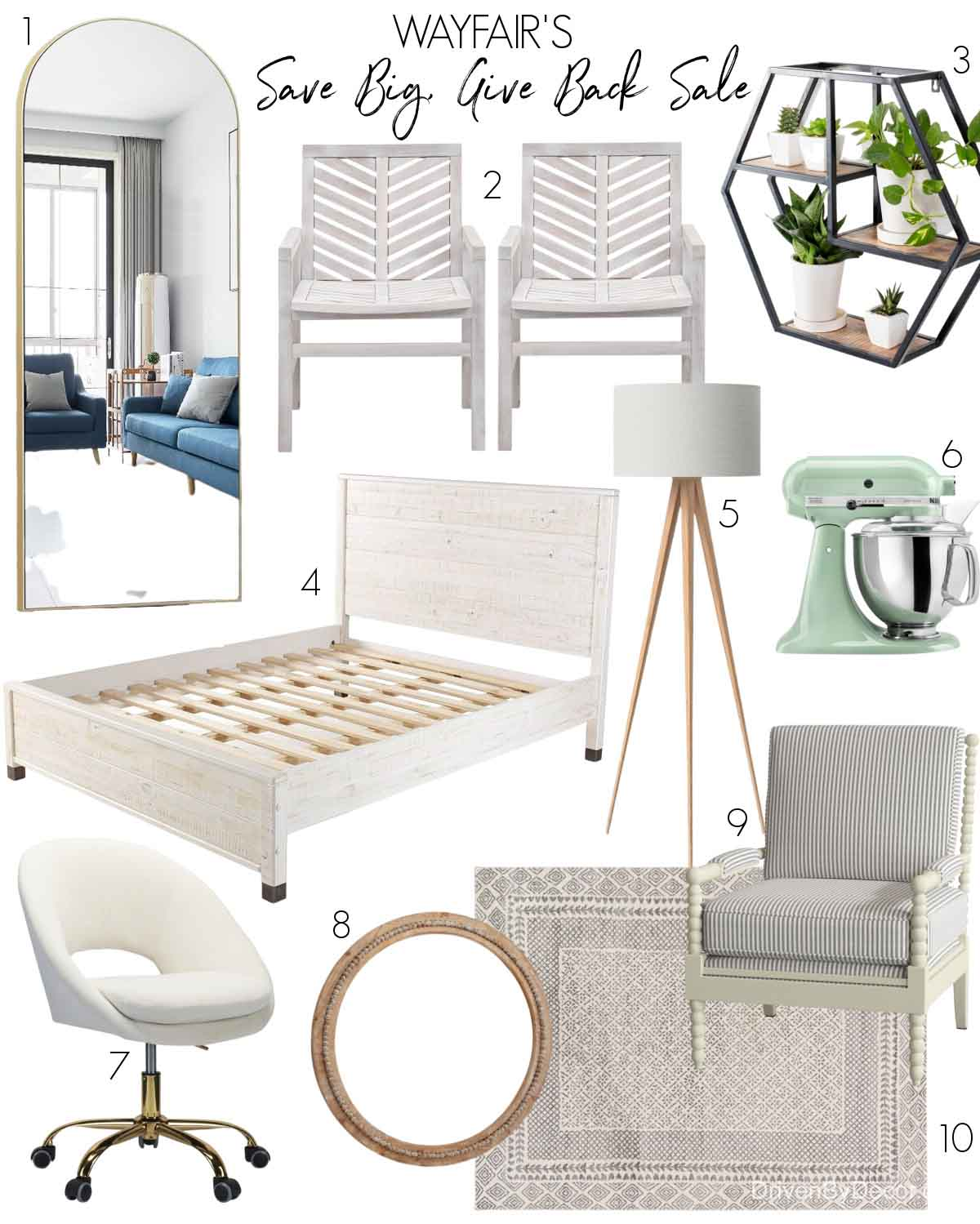 Favorites from Wayfair's Save Big, Give Back sale!
