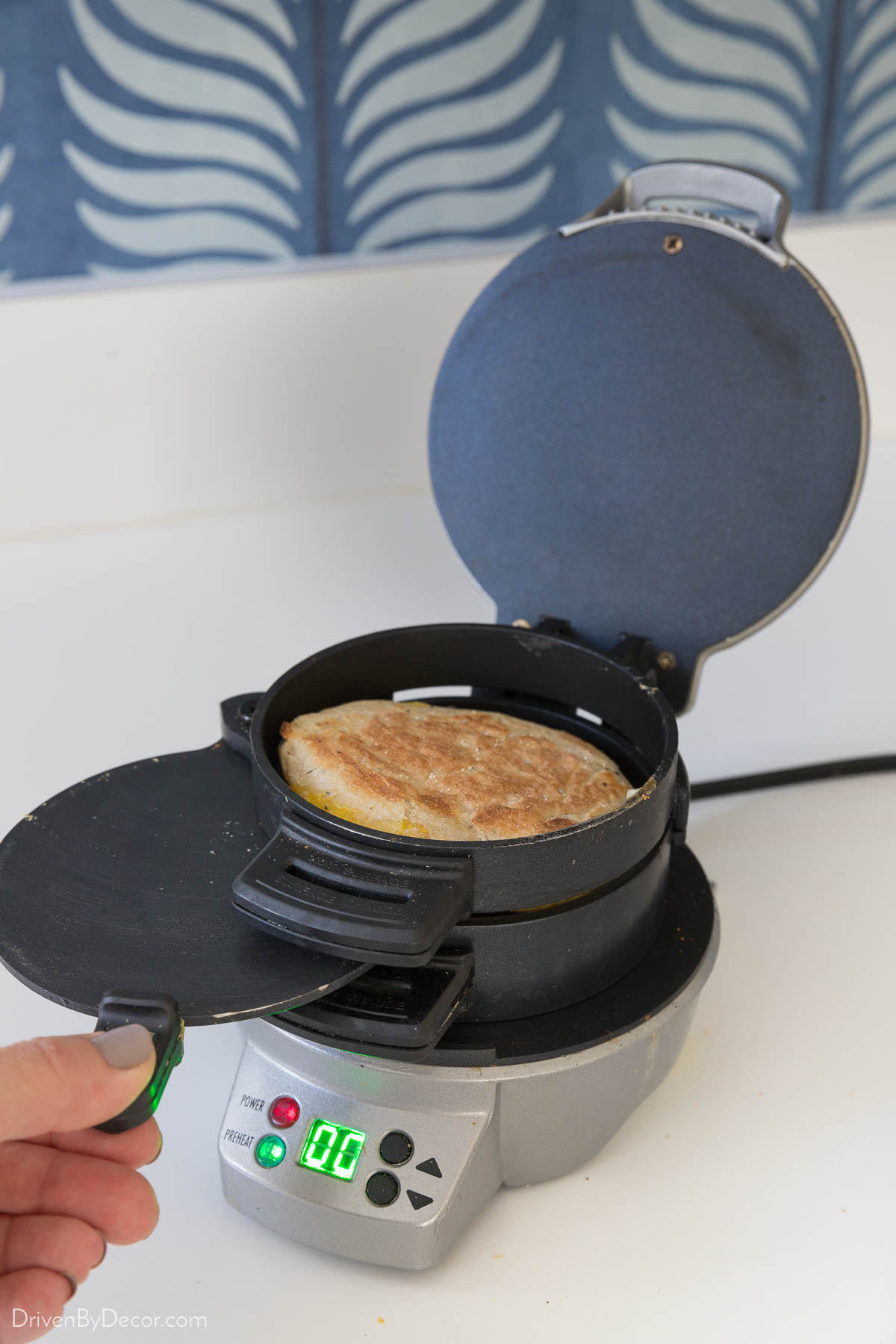 A favorite small kitchen appliance that takes up hardly any cupboard space!
