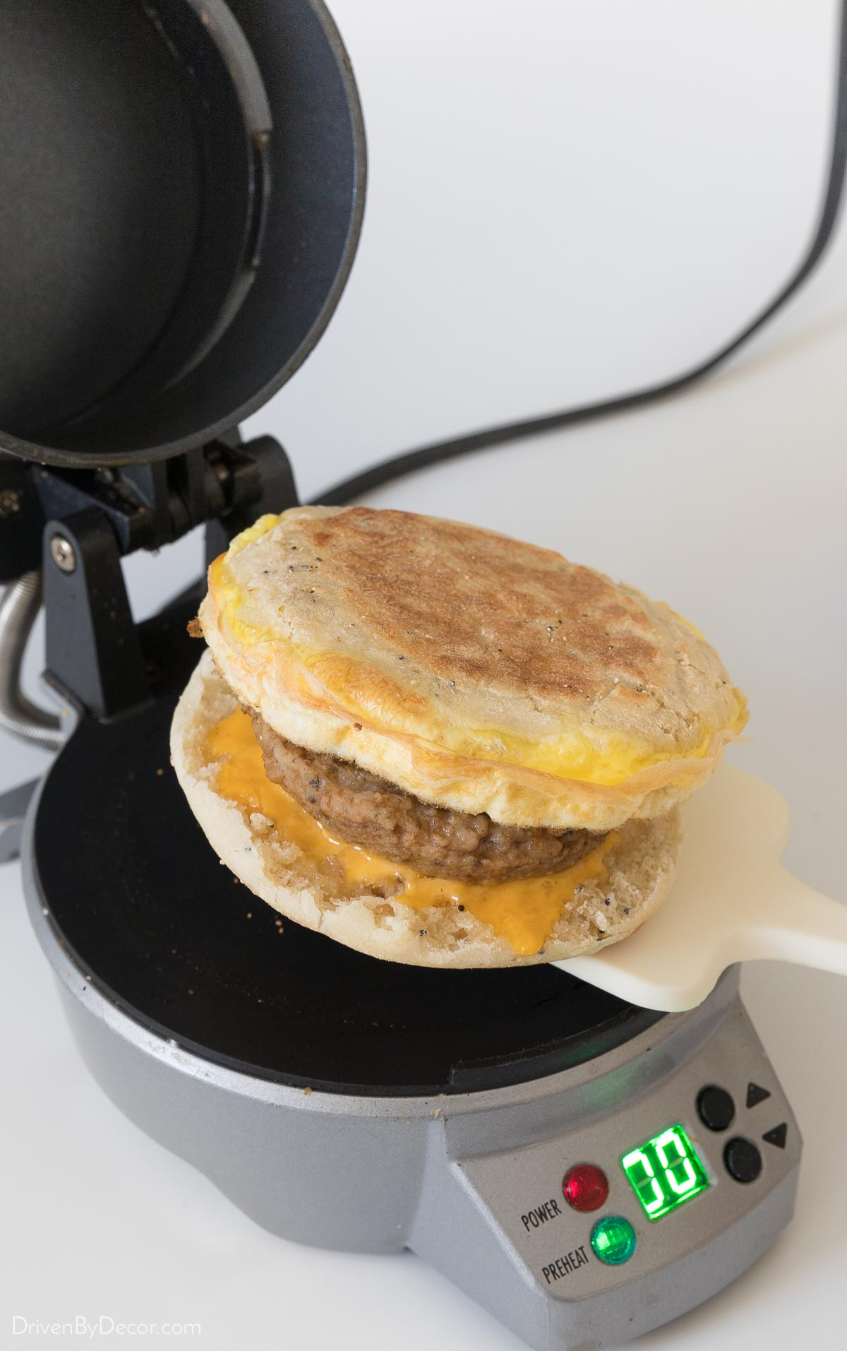 This small appliance makes the best breakfast sandwiches!