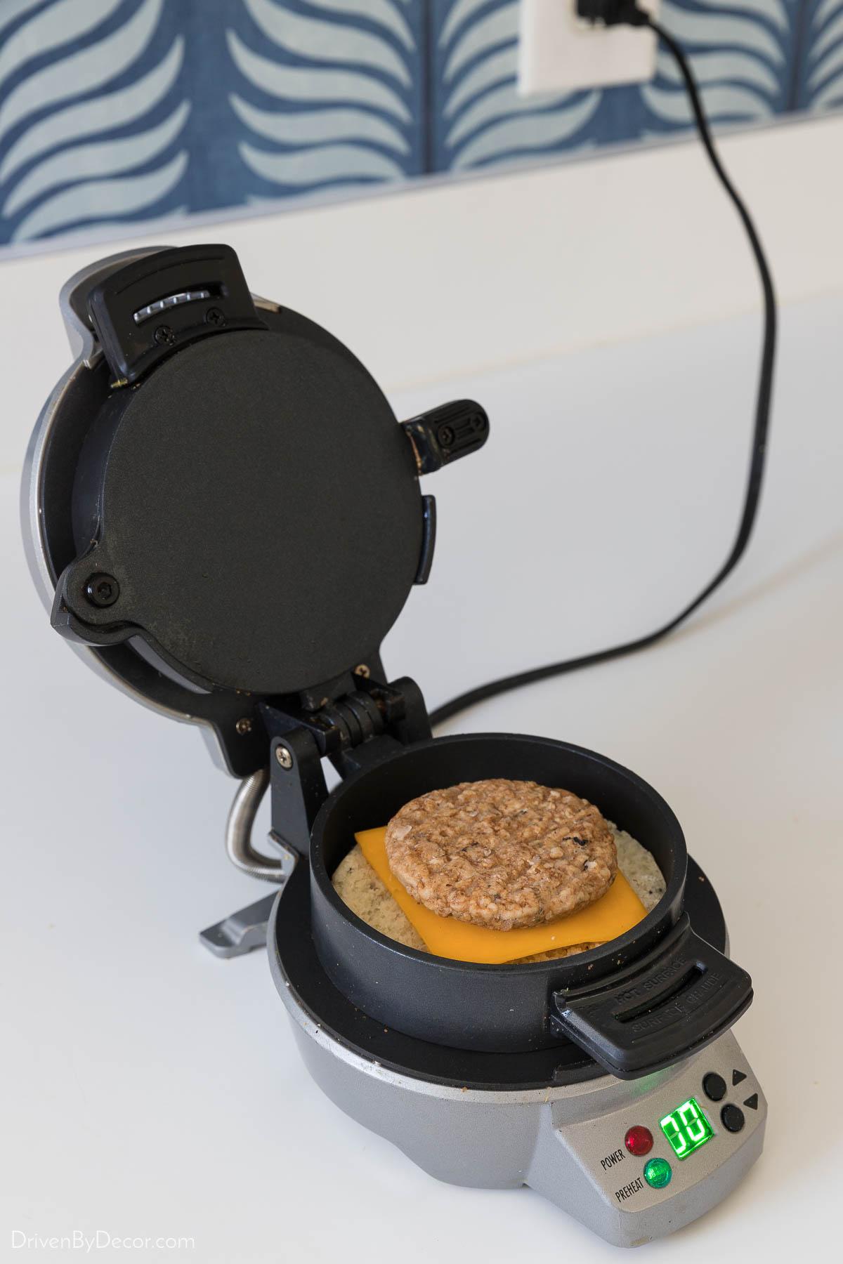 Love this breakfast sandwich maker!