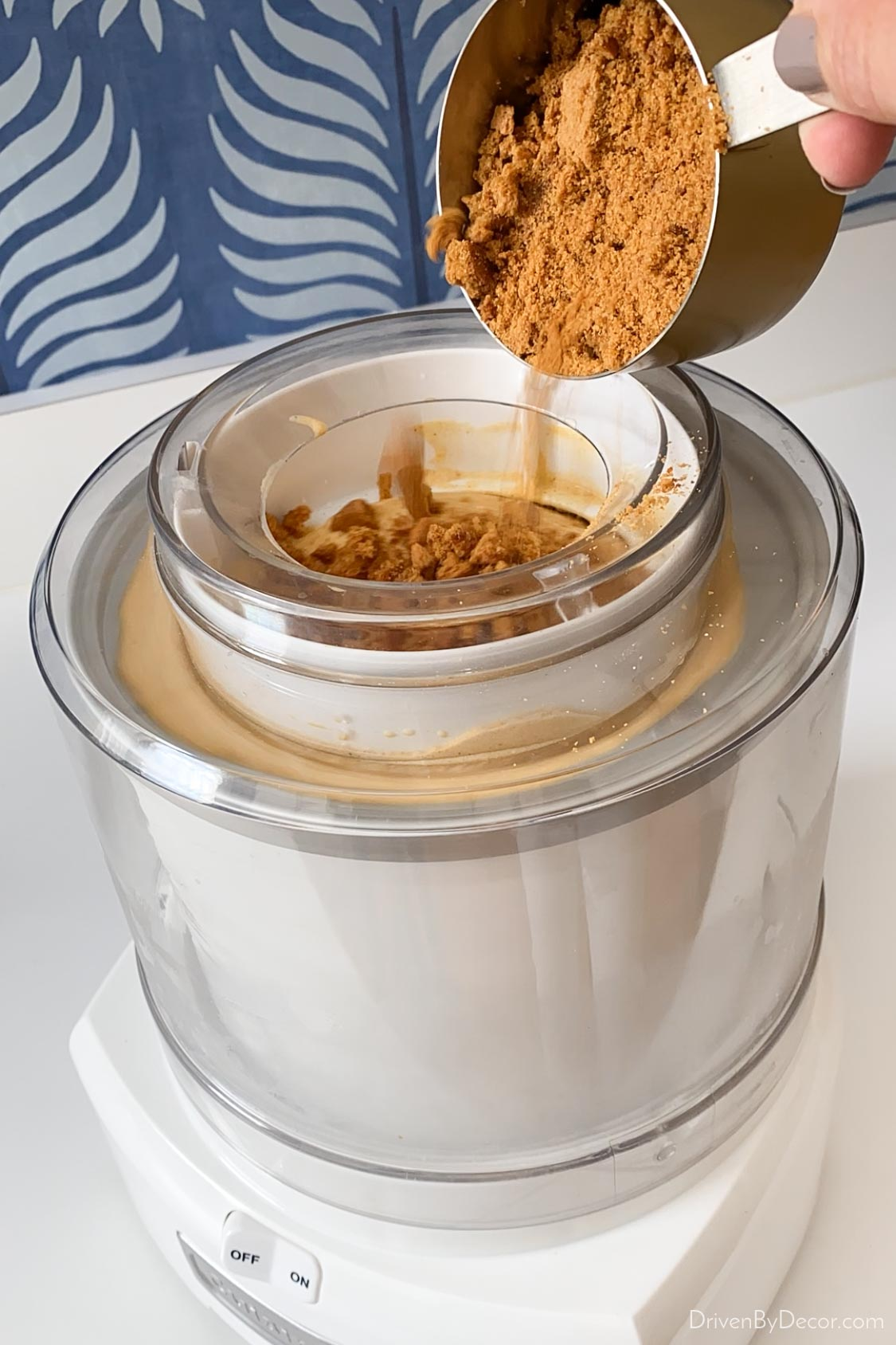 This ice cream maker makes the BEST ice cream!