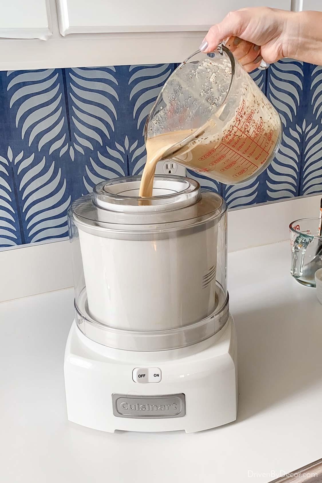 This ice cream maker is a favorite small kitchen appliance!